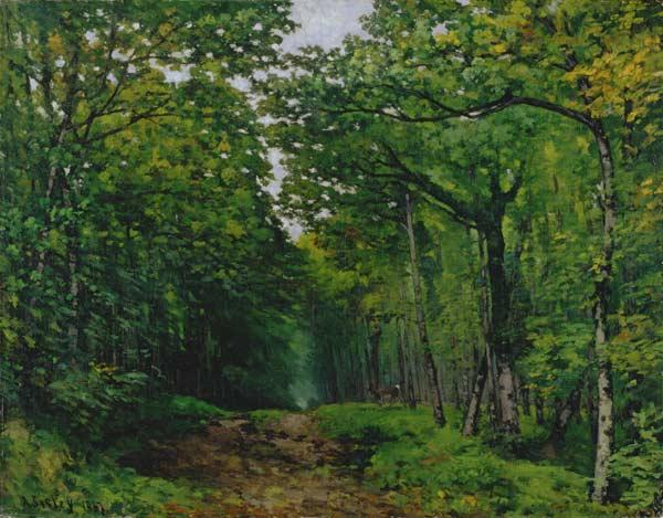 Sisley, Alfred : The Avenue of Chestnut Tre...