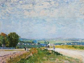 Sisley, Alfred : The Road to Montbuisson at...