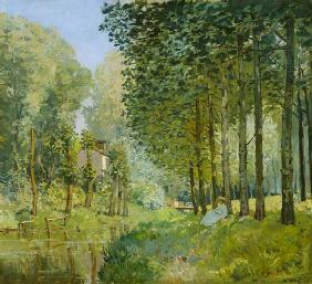 Sisley, Alfred : The Rest by the Stream. Ed...