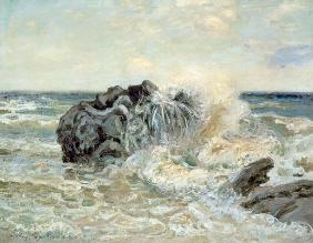 Sisley, Alfred : The Wave, Lady's Cove, Lan...