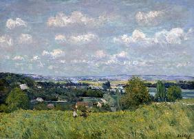 Sisley, Alfred : The Valley of the Seine at...