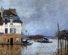 Sisley, Alfred : The Flood at Port-Marly