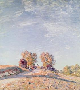 Sisley, Alfred : Uphill Road in Sunshine