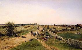 Scene from the Franco-Prussian War