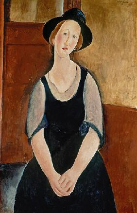 Portrait of Thora Klinchlowstrom