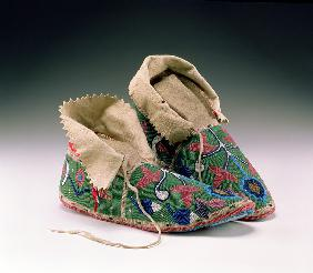 Moccasins, Eastern Sioux