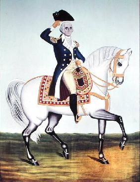 General Washington (1732-99) on a White Charger