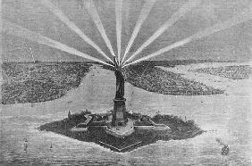 Statue of Liberty, from ''The Graphic'', 27th November 1875