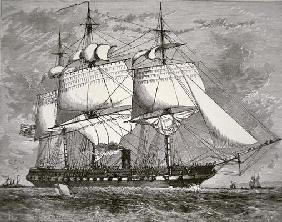 The Original 'Merrimac' (engraving)