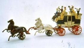 Toy stagecoach