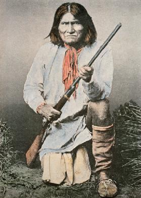 Geronimo (coloured photo)