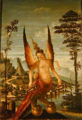 Allegory of prudence giovanni bellini