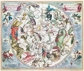 Map of the Southern Hemisphere, from ''The Celestial Atlas, or The Harmony of the Universe'' (Atlas