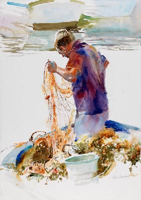 Sicilian Fisherman and net