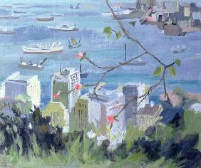 Hong Kong (oil on canvas)