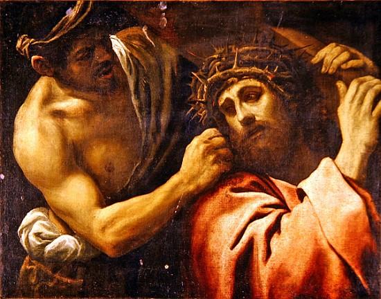IIIème Station - Jésus tombe sous le poids de sa Croix Christ_carrying_the_cross
