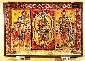 Christ in Majesty Surrounded by the Twelve Apostles