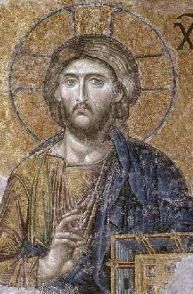 Mosaic depicting the Deesis Christ, South Gallery,Byzantine
