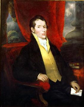 Portrait of John Macarthur (1767-1834), co-founder of the Australian wool industry, leader of the 'R
