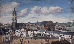 View of Weimar with the Castle of Wilhelmsburg