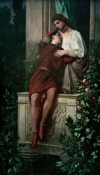 Shakespeare Romeo And Juliet Anselm Feuerbach En Reproduction Imprimee Ou Copie Peinte A L Huile Sur Toile