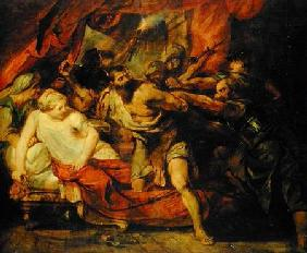 The Imprisonment of Samson, after a painting by Rubens