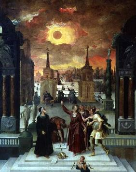 Dionysius the Areopagite Converting the Pagan Philosophers