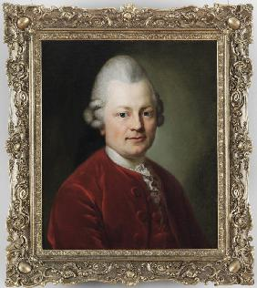 Portrait of Gotthold Ephraim Lessing (1729-1781)