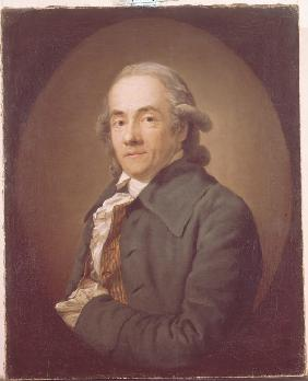 Portrait of Christian Friedrich Voss (1724-1795)