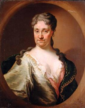 Portrait of Barbara Lutken (1664-1740)