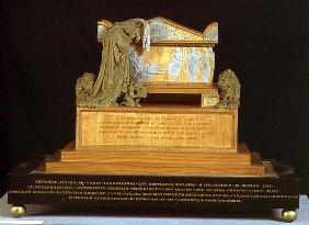 Model for the Monument of Francesco Pisano (wood and wax)