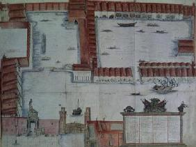 Plan for the Arsenal, Venice  on