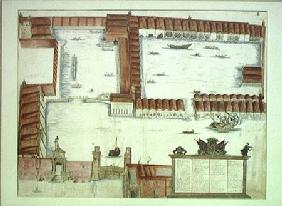 Plan of the Arsenale, Venice  on