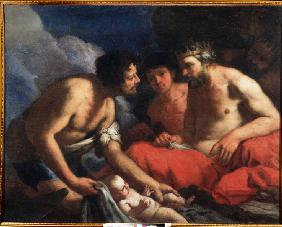 Palamedes and Odysseus