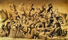 The Battle of Cascina, or The Bathers, after Michelangelo (1475-1564)