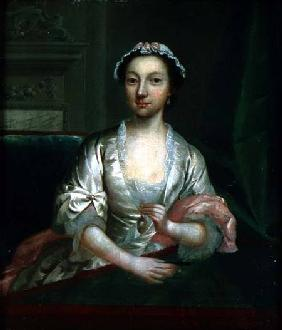 Portrait of Elizabeth Faulkner, the artist's wife
