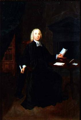 Portrait of the Rev. William Farington, Vicar of Leigh in Lancashire