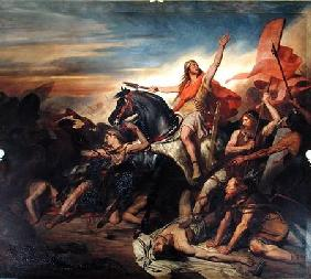 Battle of Tolbiac in AD 496