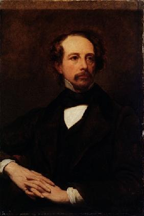 Portrait of Charles Dickens (1812-1870) 1855