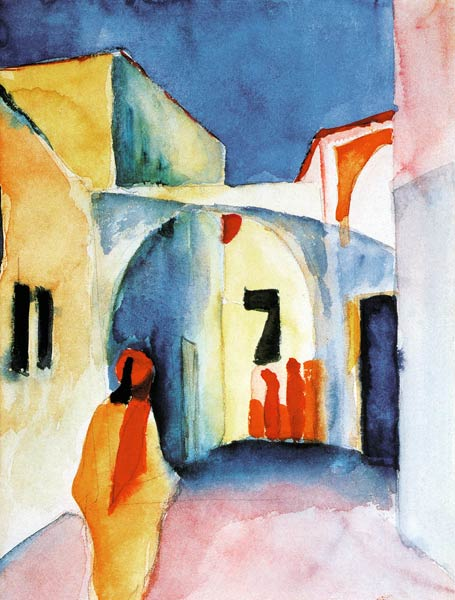 Oeuvre expressionniste d'August Macke