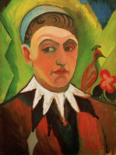 Clown, Self Portrait 1913
