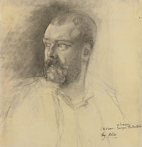 Portrait of Octave Mirbeau (1848-1917)