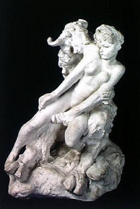 Faun and Nymph