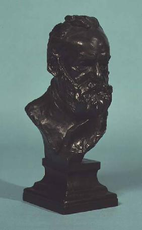 Portrait head of Victor Hugo (1802-85)