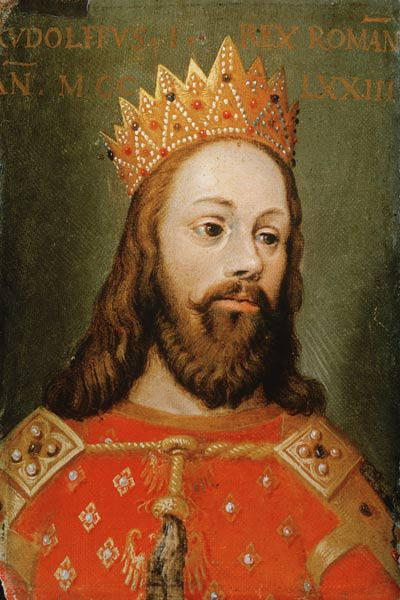 Rudolf I (1218-91) uncrowned Holy Roman Emperor, founder of the Hapsburg dynasty