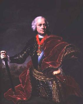 Karoly Jozsef Batthyany (1698-1772), Prince of Batthyany, Hungarian Field Marshall in Austrian servi