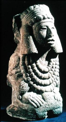 The Goddess Chalchihuitlicue, found in the Valley of Mexico