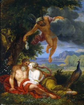 Hypnos Sending Jupiter and Juno to Sleep