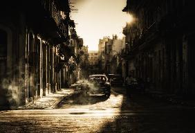Mystic morning in Havana...