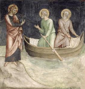 The Calling of St. Peter, from a series of Scenes of the New Testament (fresco)